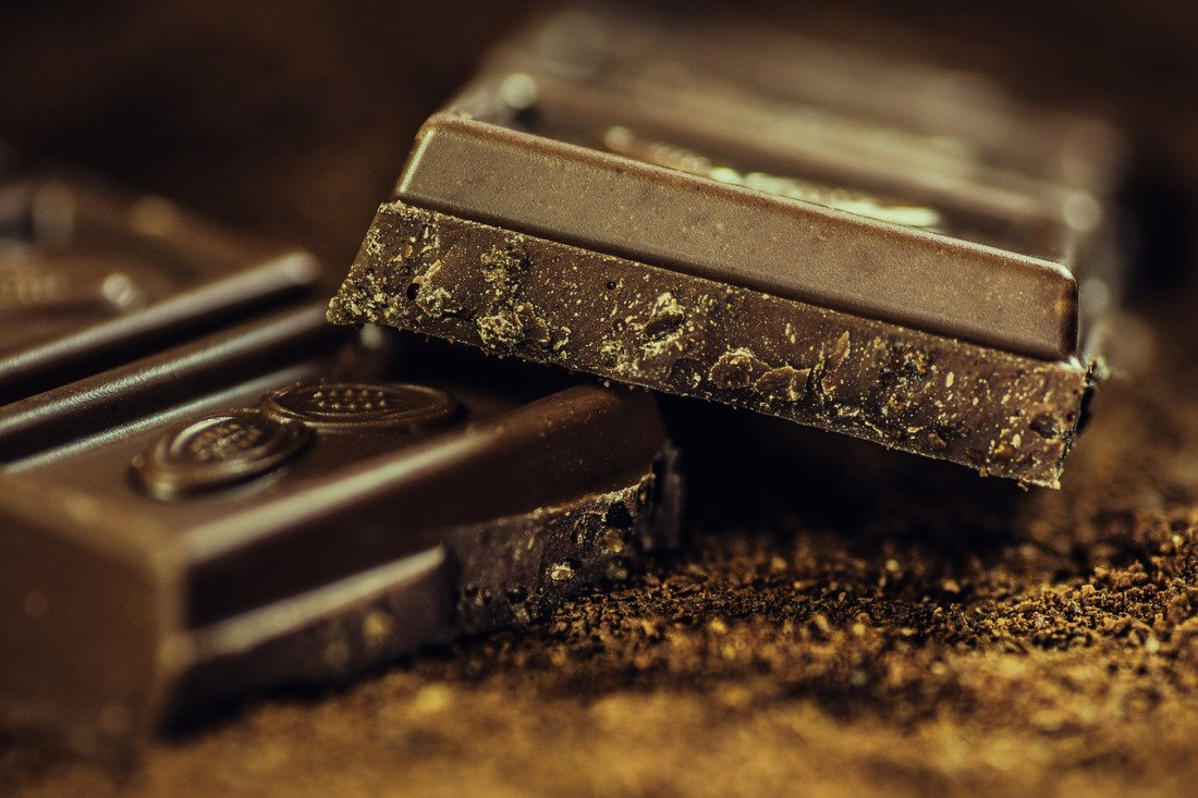 Chocolate can be a great motivator to work on your creative project