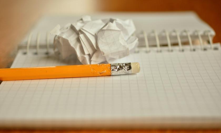 https://pixabay.com/en/pencil-notes-chewed-paper-ball-1891732/